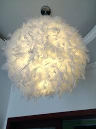hanging round lamp bedroom foyer with led bulb plume plumage stylish hanging sphere pendant light round