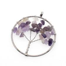 tevida 4pc big size charms fashion silver crystal tree of life beads pendant for jewelry making