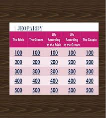Jeopardy Game Template Jeopardy Game Template - 10+ Free PPT, PPTX, Documents Download ...
