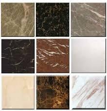 Marble tiles types