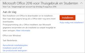 Office 2016 installeren met productcode - Microsoft Community