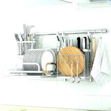 drying racks hanging dish rack stainless steel suppliers ikea wall mounted