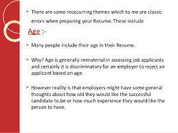 Job Application Writing  What Not To Include In Your Resume?