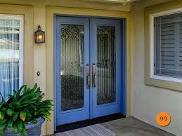 Backyards  How Choose Front Door Glass Inserts Todays Entry Doors - Exterior door glass insert replacement