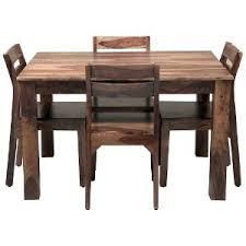 induscraft sheesam wood dining table set brown sets shopcj kitchen table13 table