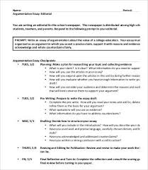 argumentative essays samples examples format high school argumentative essay sample