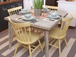 painted dining room furniturePainting Kitchen Tables Pictures Ideas  Tips From HGTV  HGTV