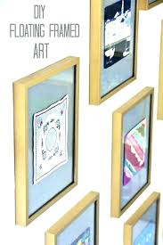 floating poster frame glass x frames categories picture wall mounted acrylic poster frames inches photo floating