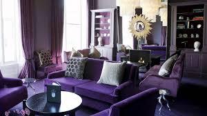 round living room furniture. Purple Living Room With Art Deco Interiors Concept Ideas Also Elegant Furniture Artistic Mirror Ornament Sun Shape Round
