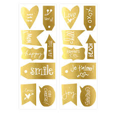 Graham Brown Kinderzimmer Wandsticker Tags Sprüche Gold 16 Tlg