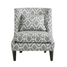 waverly gray swoop arm chair madison park arm chairs accent chairs