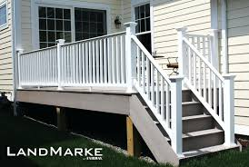 aluminum deck railings canada. porch and deck railing vinyl o composite aluminum systems specialty column wraps diy post covers uk canada railings