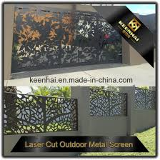 perforated sheet metal lowes china direct sale horizontal laser cut lowes aluminum fence panel