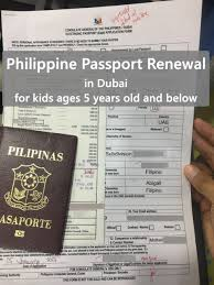Passport Renewal Application Form Inspiration Philippine Passport Renewal In Dubai For Kids Cuddles And Crumbs