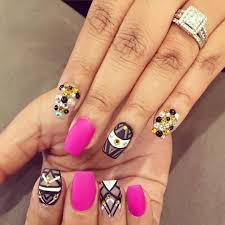 Nail Designs : Funky French Nail Art Designs Getting Funky Nail ...