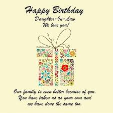 40 Beautiful Birthday Wishes For Daughter In Law Best Birthday New Birthday Quotes For Daughter