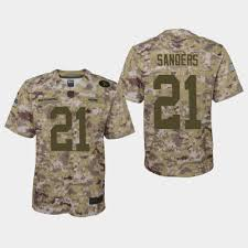 Nfl Store Youth Jersey Camo Fan Sanders Deion