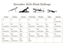 December Plank Challenge Soulful Stretch