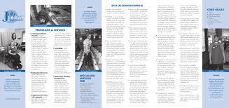 PROGRAMS & SERVICES 2014 ACCOMPLISHMENTS