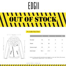 Fur Jacket Size Chart Edgii