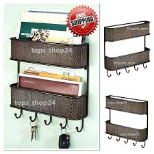 wall mounted office organizer system. Wall Mounted Office Organizer Mount Wood System Letter Bill