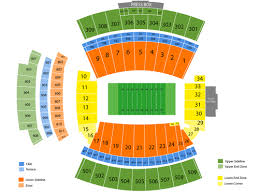 Gamecock Seating Chart South Carolina Gamecocks Football Tickets At Williams Brice Stadium On August 31 2018 At 12 00 Pm