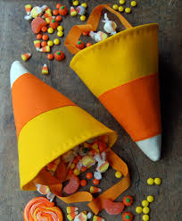 homemade halloween candy bags. Exellent Bags CANDY CORN BAG Image Source Purl Soho To Homemade Halloween Candy Bags T