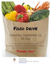 Food Drive Flyers Templates Are You Hosting A Food Drive Just Add Your Content And
