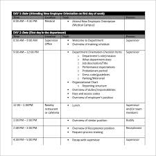 Sample Work Schedule For Employees Sample Employee Schedule 13 Documents In Pdf Word