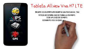 Tableta Allview Viva H7 LTE - YouTube
