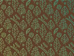 Fall Patterns Cool Fall Pattern By Tyler Anthony Dribbble