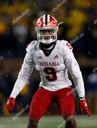 Indiana defensive back Jonathan Crawford plays against Editorial Stock  Photo - Stock Image   Shutterstock