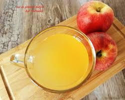 parer la publication jus de pommes maison