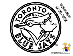 Small Picture Toronto Blue Jays Coloring at YesColoring Game Day Fun
