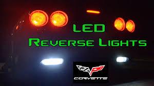 C5 Corvette Led Reverse Lights C6 Corvette Led Install Reverse Lights Only