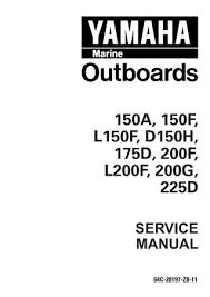 Yamaha 200geto P200tr Outboard Service Repair Manual L