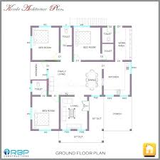 style 3 bedroom single floor house plans beautiful new home kerala building plan elevation section