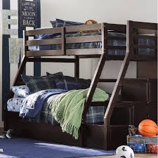Viv + Rae Reece Twin Over Full Bunk Bed with Trundle and Drawers ...