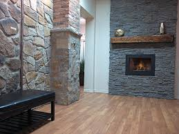 grey stone fireplace fireplaces stone brick veneer