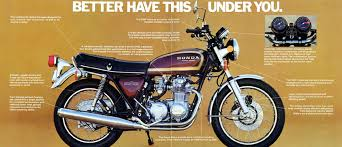 vintage honda motorcycle ads. honda cb400f cb550f with this ahead of you vintage ad motorcycle ads