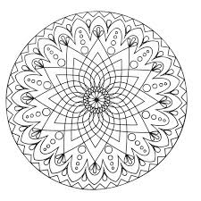 Small Picture Simple abstract Mandala From the gallery Mandalas Blank