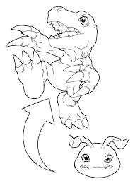 Digimon Coloring Pages 99 Gif 2400