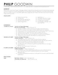 Example Modern Resume Example Of Modern Resume Resume Samples Doc Word Resume Examples