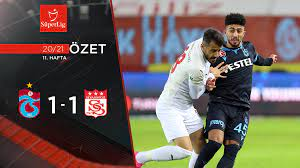 2020-2021 Trabzonspor 1-1 Demir Grup Sivasspor maç özeti tr.beinsports.com