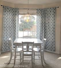 how to hang a shower curtain rod new diy bay window curtain rod for less than 10