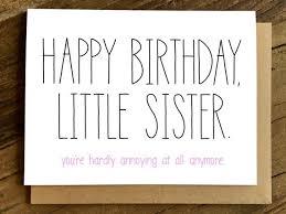 Lustige Geburtstag Karte Geburtstagskarte Für Schwester