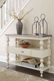 antique white sofa table. Fossil Ridge Antique White Console Sofa Table Antique White Sofa Table