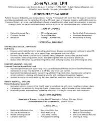 Lpn Resume Sample Berathen Com