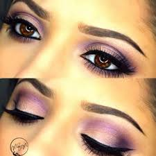 prom makeup for brown eyes and purple dress google search