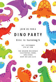 Dinosaur Birthday Invitation Boys Birthday Invitation Templates Free Greetings Island